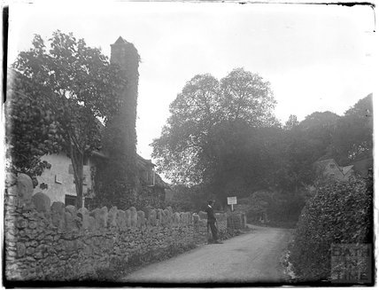 On the way to Culbone Church, near Minehead, 1926