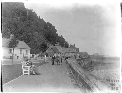 The seafront at Minehead, 1927