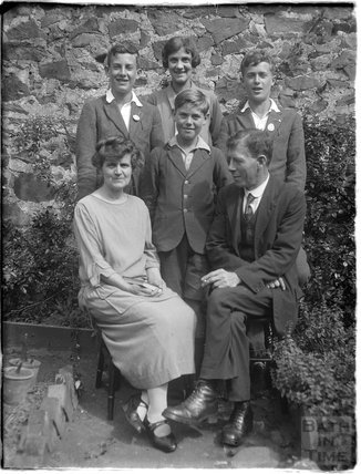 Group photograph, Minehead 1926