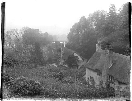Cottages in the Minehead area, 1930