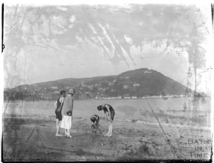 Bathing at Minehead 1926