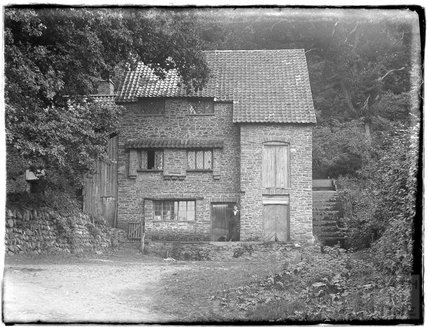 The Mill at Culbone, near Minehead, 1926