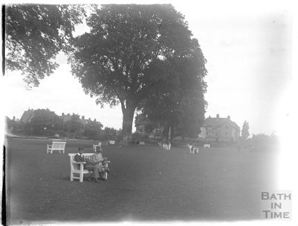 The Park, probably at Minehead, 1927