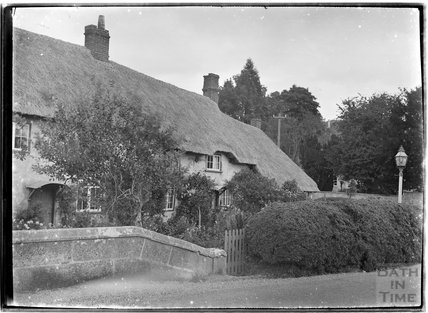Thatched cottage, Codford, near Warminster, Wiltshire, c.1930s