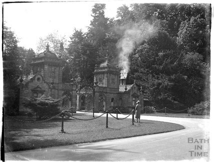 The gatehouse at Westonbirt House (now school) , c.1926-30