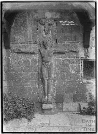 Romsey Abbey, Hampshire, c.1935