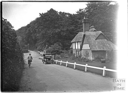 Thatched Cottage, Fonthill Bishop, Wiltshire, c.1930s