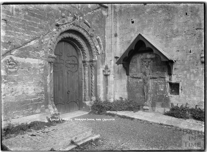 Romsey Abbey, Hampshire, c.1935