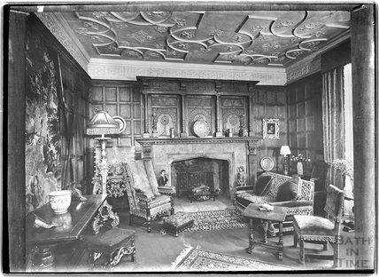 A photograph of a photograph of a fine interior c.1930s?