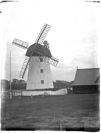 Lytham Mill, Lytham St Anne's, Lancashire, late 1930s