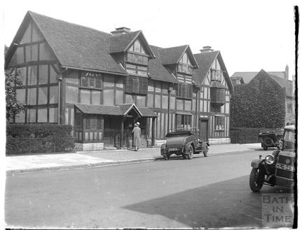 Shakespeare's birthplace, Stratford on Avon, c.1926-30