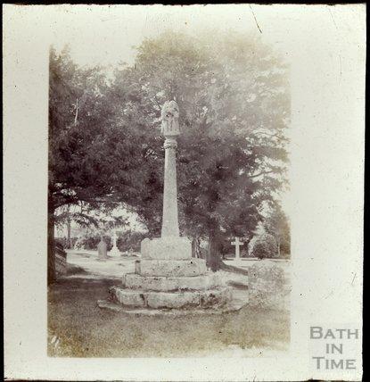 Churchyard Cross, St Mary Magdalene, Chewton Mendip, c.1900