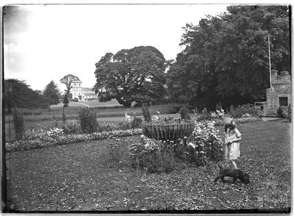 Manor House and gardens, Farrington Gurney, North East Somerset, c.1930s