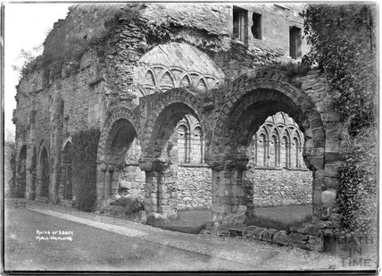 Ruins of Buildwas Abbey, Much Wenlock, Shropshire, c.1930s