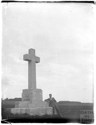Memorial on the Berkshire Downs, near Fawley, c.1926-30