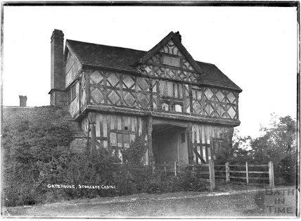 Gatehouse, Stokesay Castle, Shropshire, c.1930s