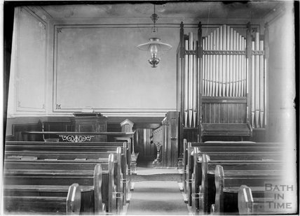 Inside an unidentified church, c.1930s