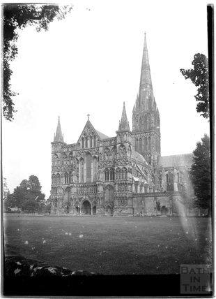 Salisbury Cathedral, Wiltshire, c.1930s