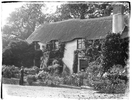 Thatched cottage, near Minehead, 1926