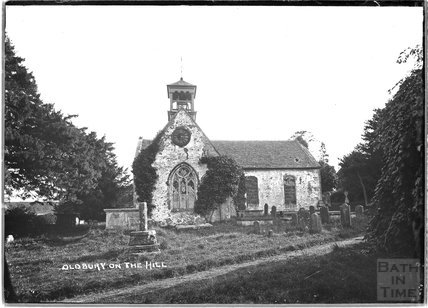 St Arilda's Church, Oldbury on the Hill, near Didmarton, Gloucestershire, c.1930s