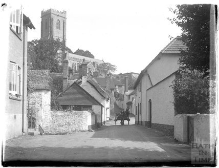 Close to Church Steps, in the vicinity of the Church of St Michael, Minehead, 1926