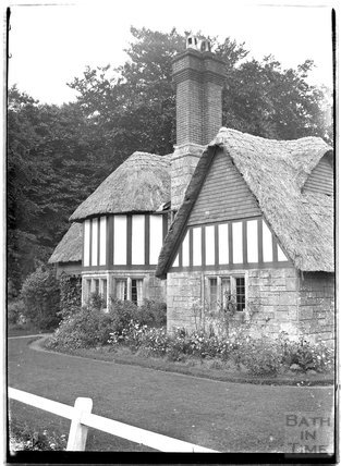 Thatched Cottage, Fonthill Bishop, Wiltshire, c.1930s