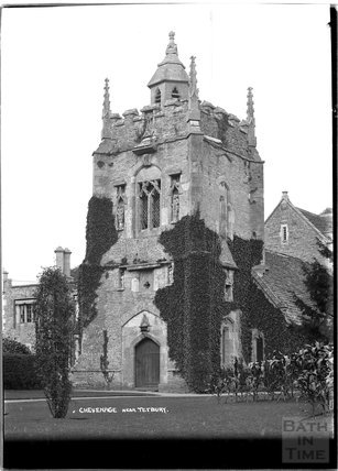 Church at Chevenage, near Tetbury, Gloucestershire c.1930s