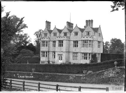 Lake House, home of rockstar Sting, near Salisbury, Wiltshire, c.1930s