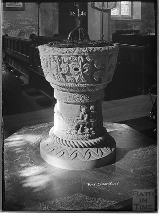 Font, Bisley, Gloucestershire, c.1930s