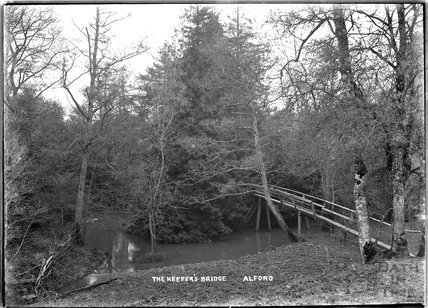 The Keeper's Bridge, Alford, near Castle Carey, Somerset, c.1930s