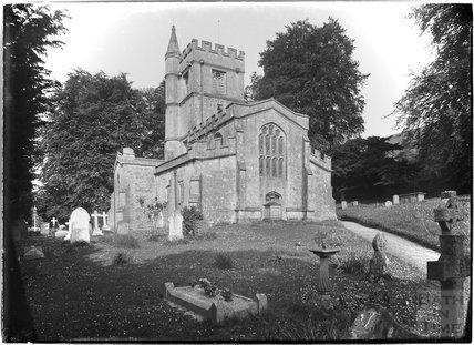St James Church, Bratton, near Westbury, Wiltshire, c.1930s