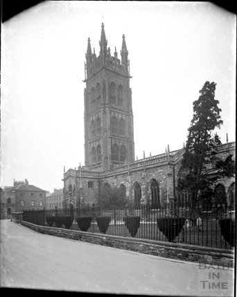 St Marys Church, Taunton, Somerset, c.1930s