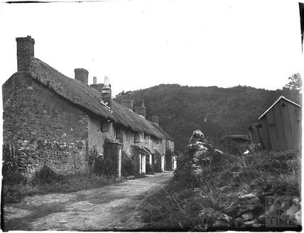 Unidentified cottage thought to be near Weymouth, Dorset, 1924