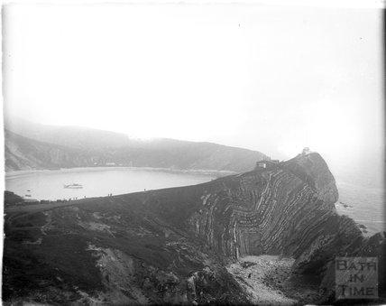 Folding Stairhole, Lulworth Cove, Dorset, c.1924