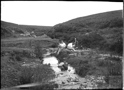 Near Post Bridge, Dartmoor, Devon, c.1930s