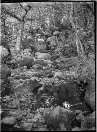 Becky Falls, Dartmoor, Devon, c.1930s