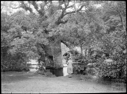 Fingle Bridge, near Exeter, Dartmoor, Devon, c.1930s