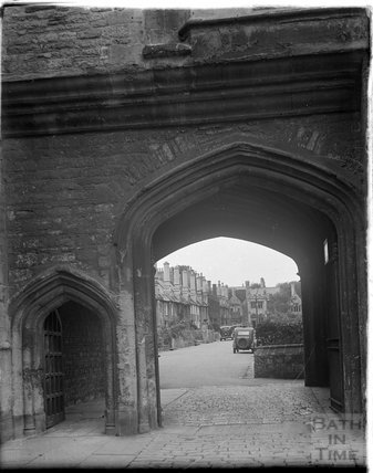Cathedral Close, Wells, Somerset, c.1930s