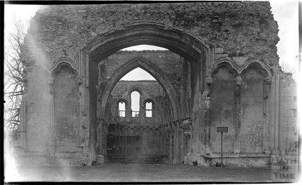 Glastonbury Abbey, c.1930s