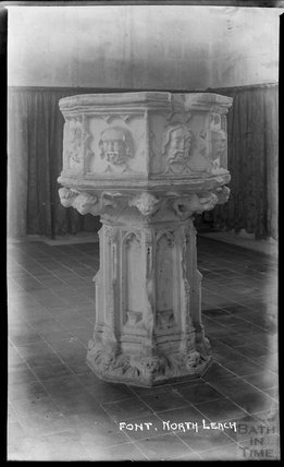 Font, Northleach, Gloucestershire, c.1930s