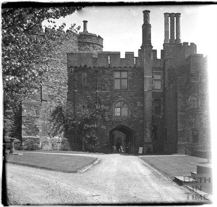 Berkley Castle, Gloucestershire, c.1930s