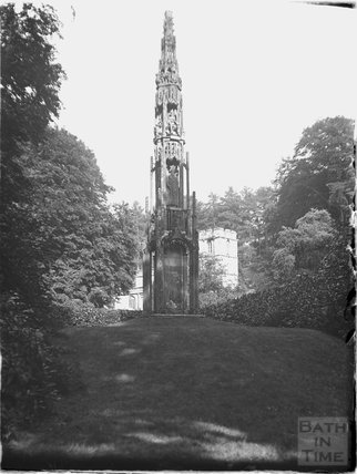 The Bristol Cross at Stourhead, Stourton, Wiltshire, 1925