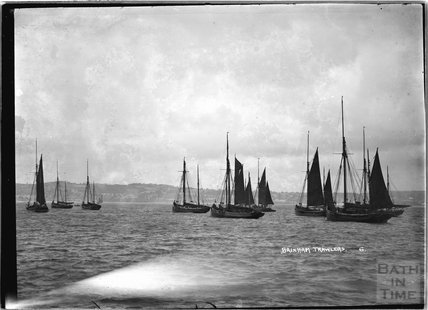 Brixham Trawlers, Devon no 6 c.1930s