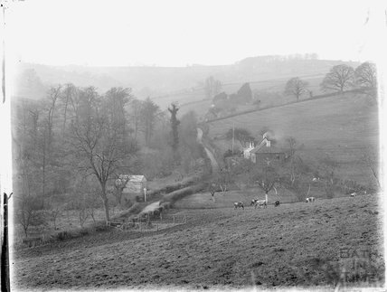 Unidentified view, thought to be near Langridge, Bath c.1920s