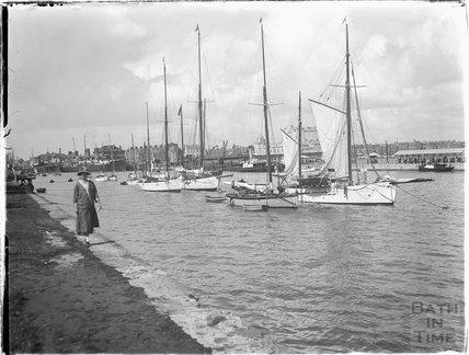 Quayside, Weymouth, Dorset 1925