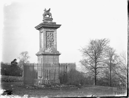 The Greville Monument, Lansdown, near Bath c.1920s