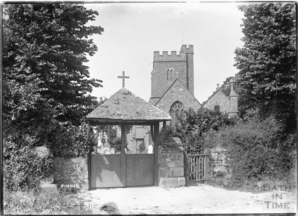 St Michael and All Angels Church, Pinhoe near Exeter, Devon c.1930s