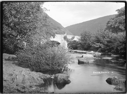 Fingle Bridge, Dartmoor, Devon, No 11 c.1930s