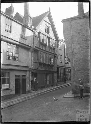 Higher Street, Dartmouth, Devon, c.1930s