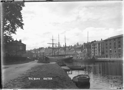 The Quay, Exeter, Devon c.1930s
